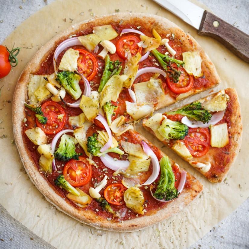 Healthy-Vegan-Pizza